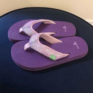 Purple Sanuk sandals